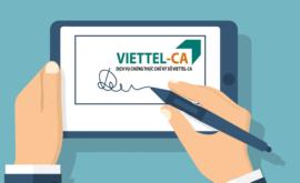 Bảng Giá Chữ Ký Số Viettel 2021 Giá Rẻ Nhất