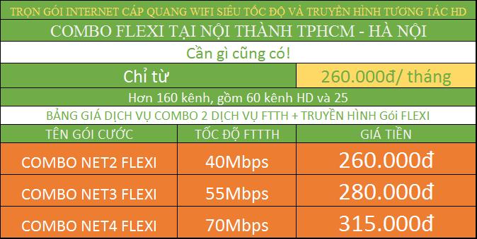Đăng Ký Internet Viettel TPHCM combo nội thành.