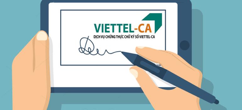 Dịch Dịch Vụ Chữ Ký Số Viettel Giá Rẻ Chính Hãng