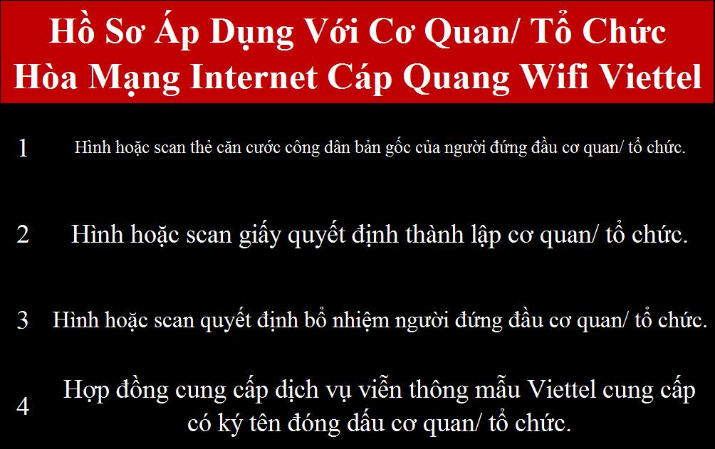 Lắp internet Viettel