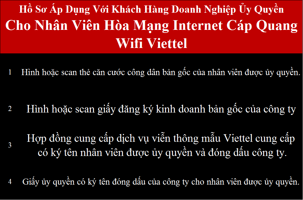 Lắp wifi Viettel