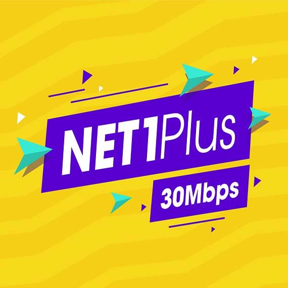 Net 1 plus Viettel 30 Mbps