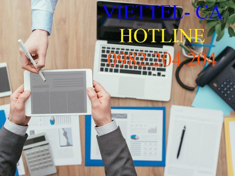 Chữ ký số Viettel TPHCM