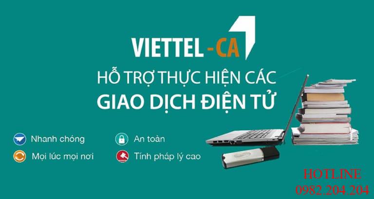 Chữ ký số Viettel tại TPHCM với thị phần số 1