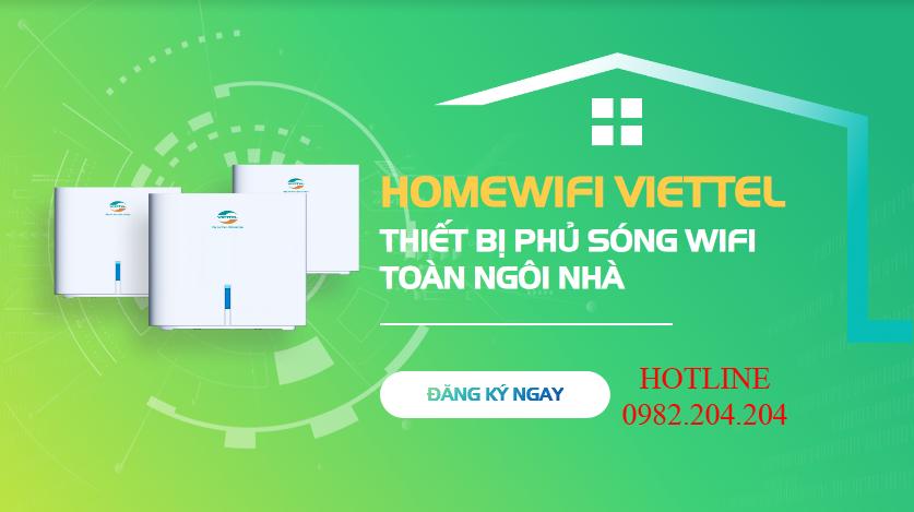 Giải pháp wifi Viettel cho mọi nhà