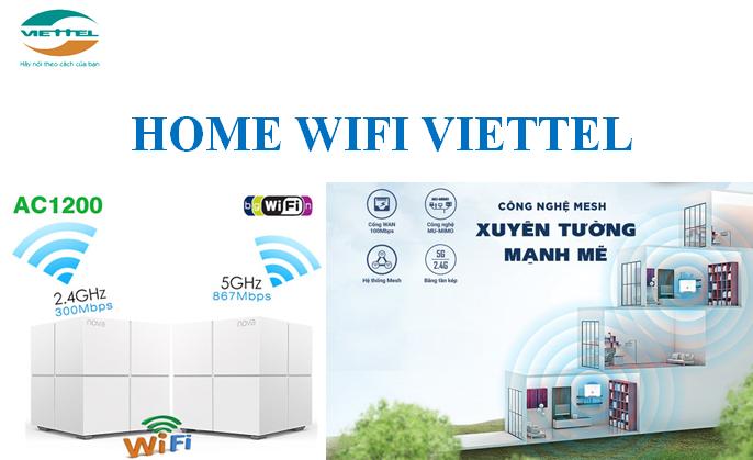 Home wifi Viettel xuyên tường mạnh mẽ