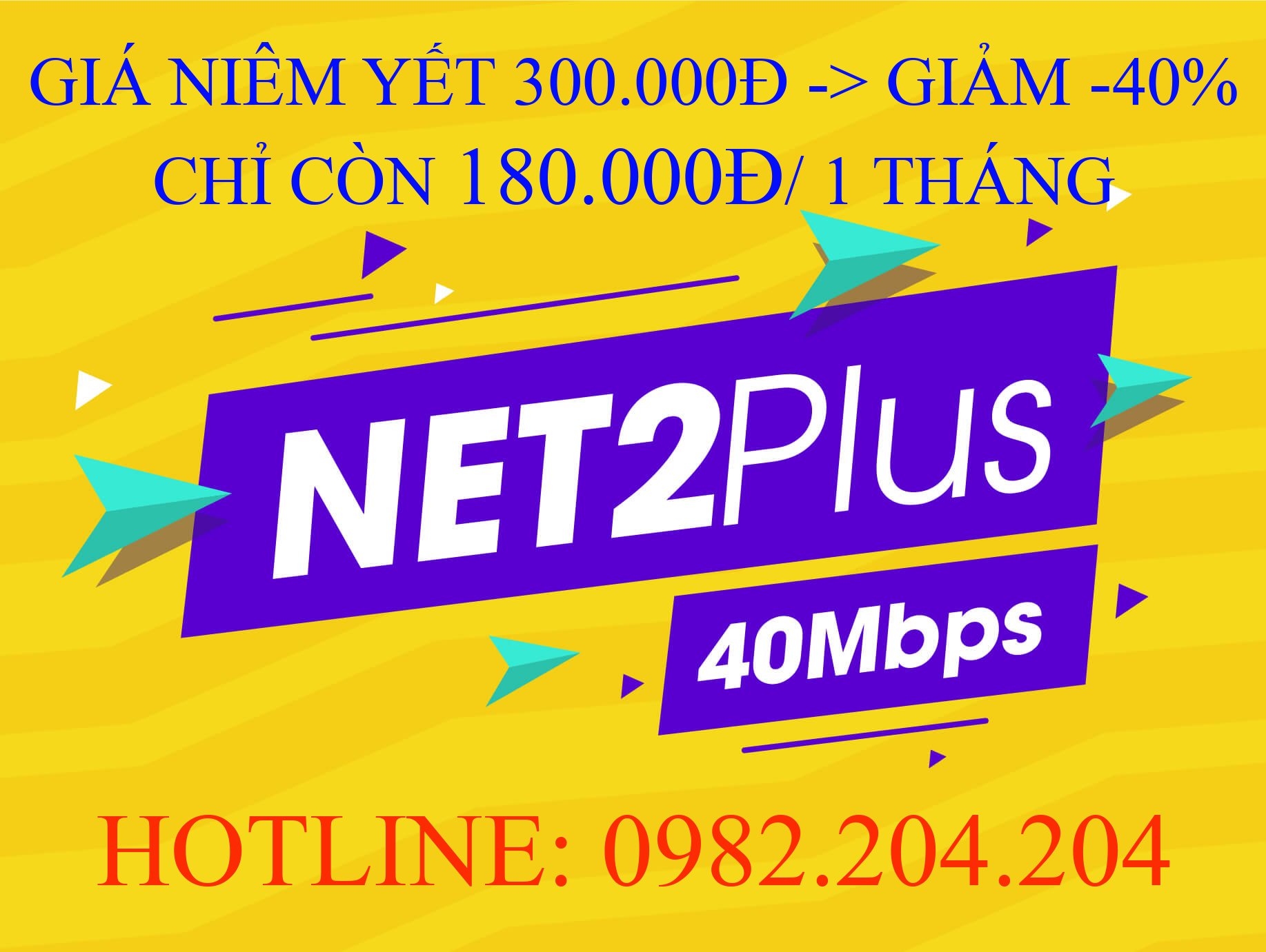 Lắp mạng Viettel gói Net 2 Plus