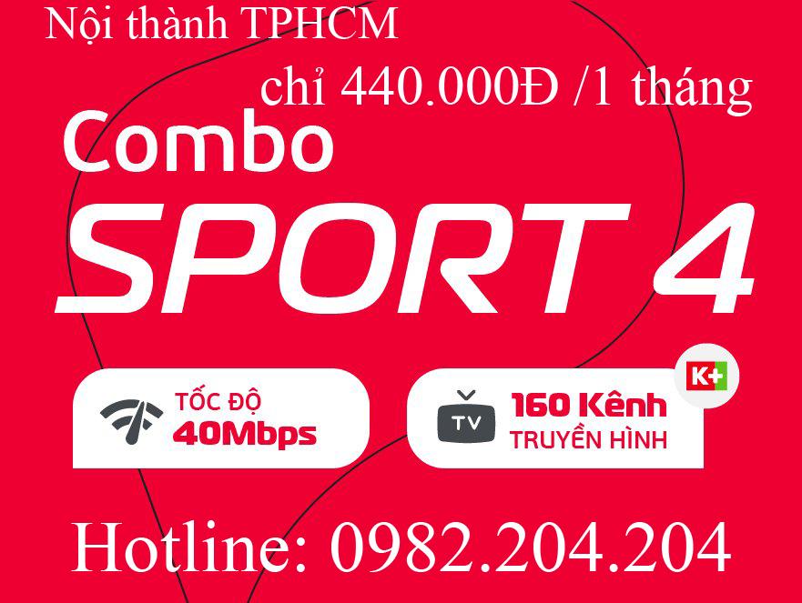41.Lắp đặt wifi Viettel Gói combo Suport 4 nội thành TPHCM Hà Nội thuê bao tháng 440.000Đ