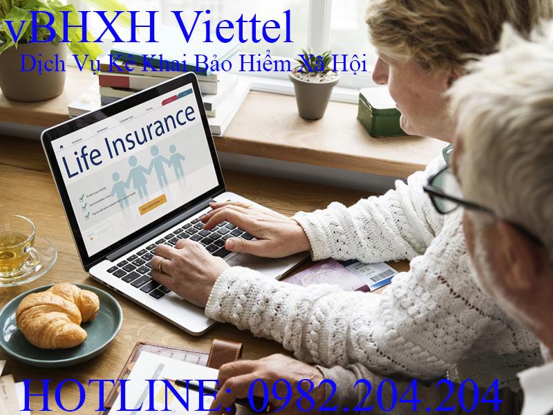 Bảng Giá Dịch Vụ Phần Mềm Kê Khai Bảo Hiểm Xã Hội Viettel vBHXH 2021