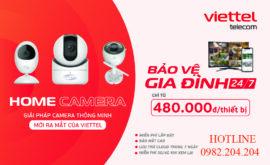 Bảng Giá Lắp Đặt Camera Viettel 2021 Giá Rẻ Với Thiết Bị Home Camera Mới