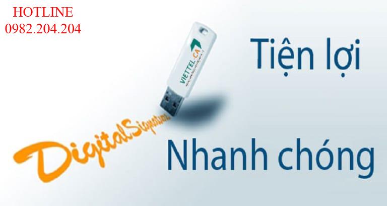 Gia hạn chữ ký số Viettel 2021 ký USB Token