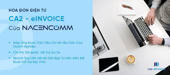 Hóa đơn điện tử CA2-Einvoice