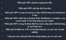 Lắp Cáp Quang Viettel 2021 Mạng Internet FTTH Wifi Giá Rẻ Nhất