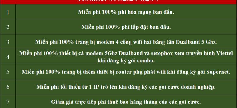 Lắp Đặt Mạng Internet Cáp Quang Wifi Viettel Quốc Oai Hà Nội 2021