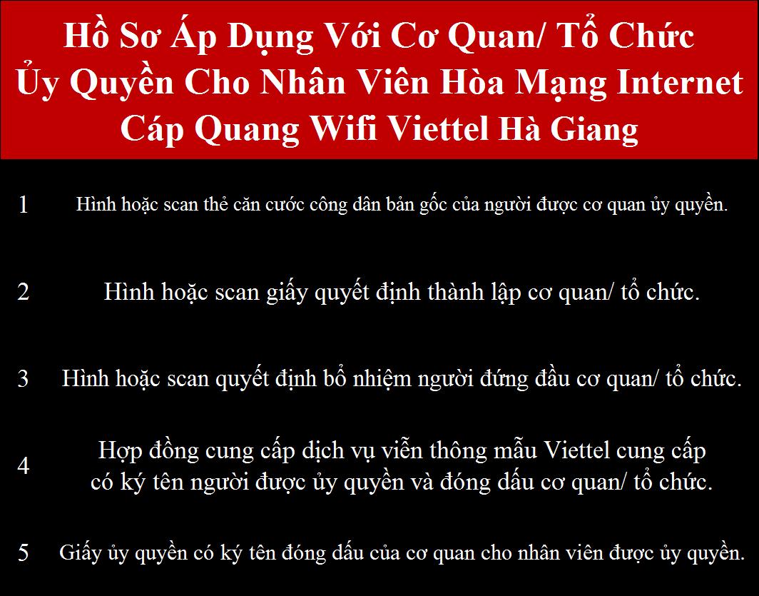 Đăng ký internet Viettel Hà Giang