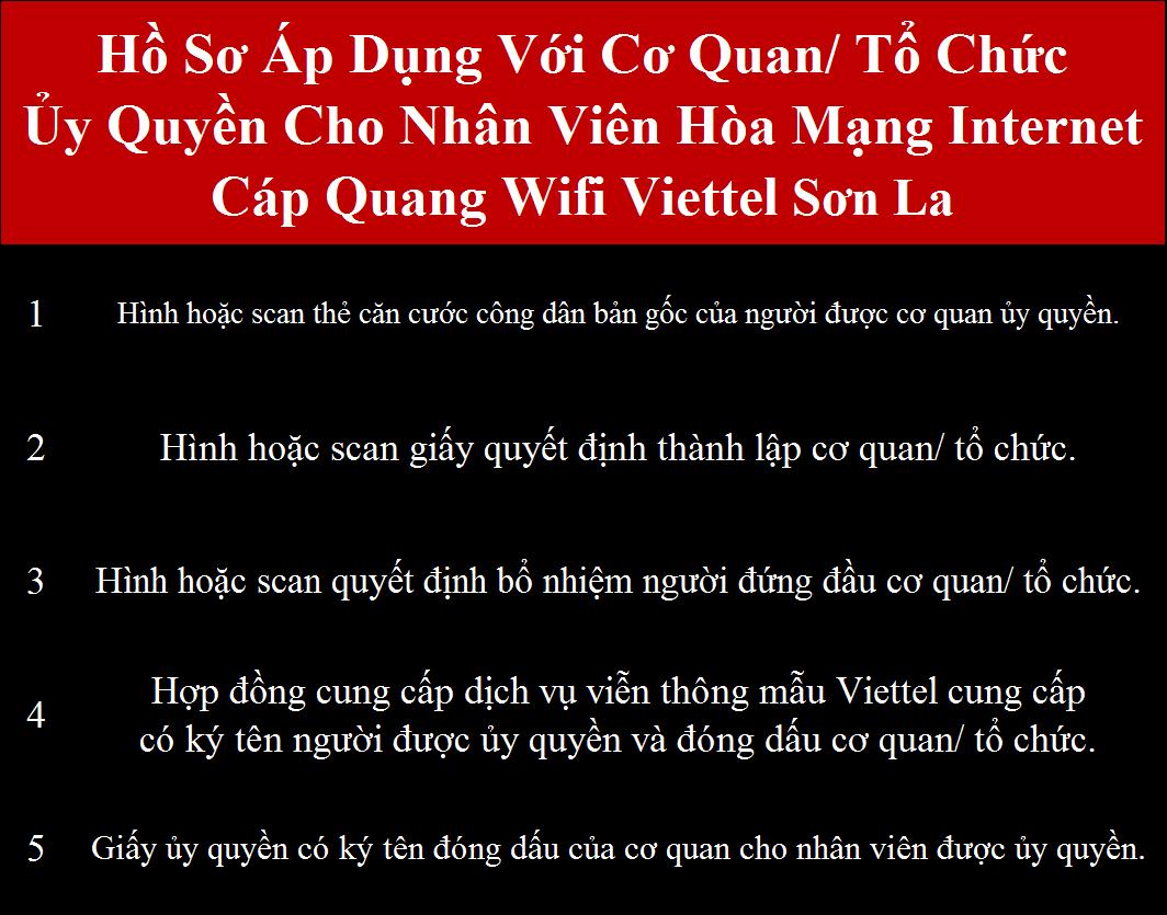 Đăng ký internet Viettel Sơn La