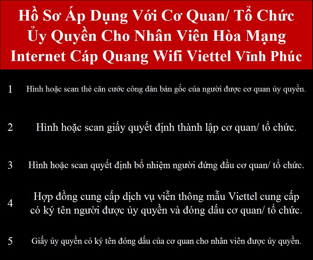 Đăng ký internet Viettel Vĩnh Phúc