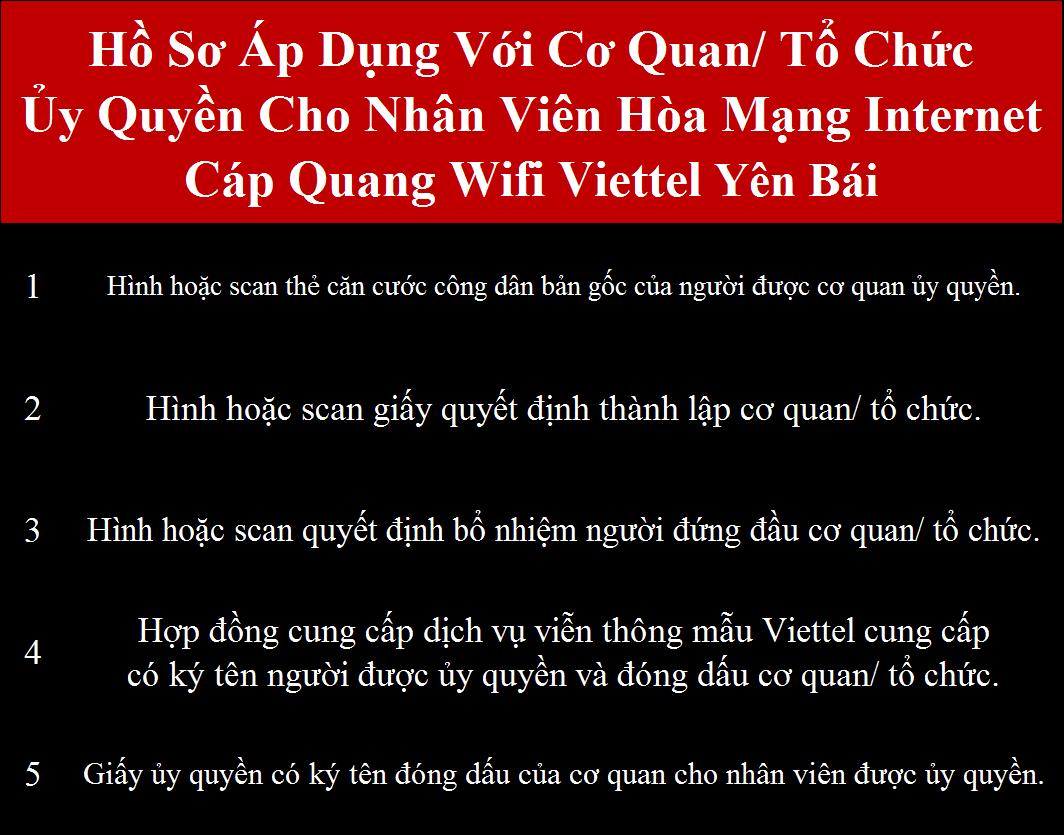 Đăng ký internet Viettel Yên Bái