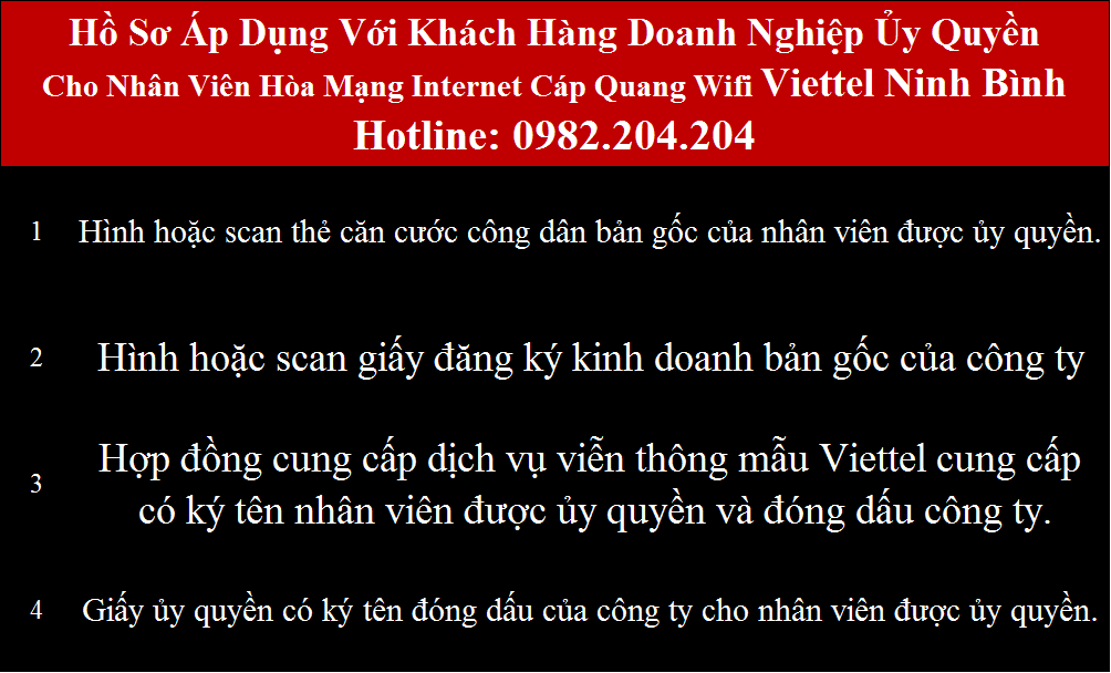 Đăng ký mạng Viettel Ninh Bình