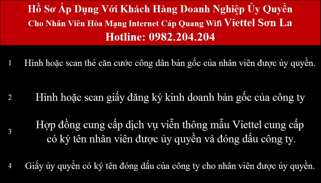 Đăng ký mạng Viettel Sơn La