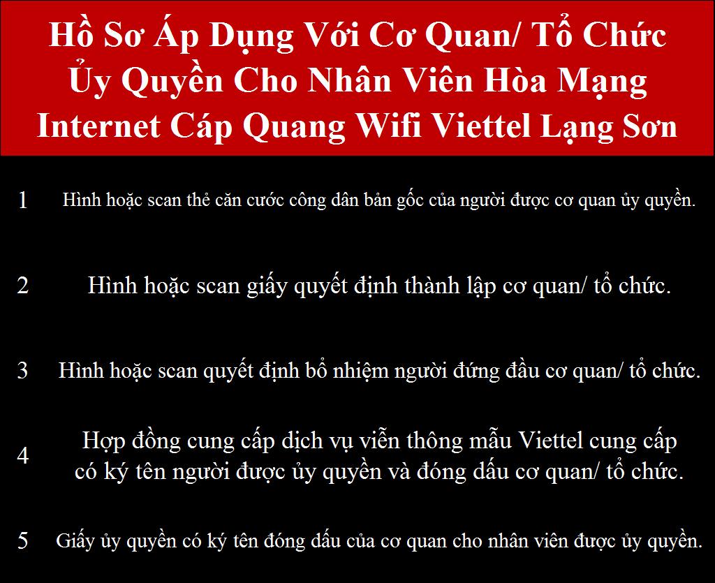 Đăng ký wifi Viettel Lạng Sơn