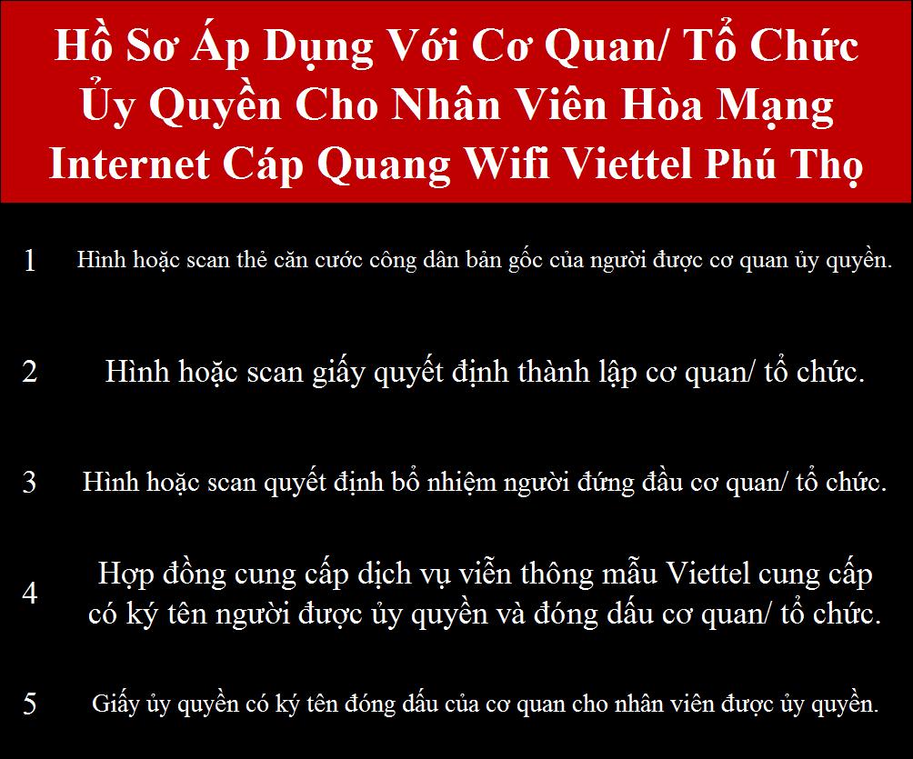 Đăng ký wifi Viettel Phú Thọ