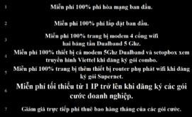Khuyến Mãi Lắp Mạng Internet Cáp Quang Wifi Viettel Bắc Ninh 2021 Mới