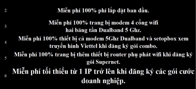 Khuyến Mãi Lắp Mạng Internet Cáp Quang Wifi Viettel Hòa Bình 2021