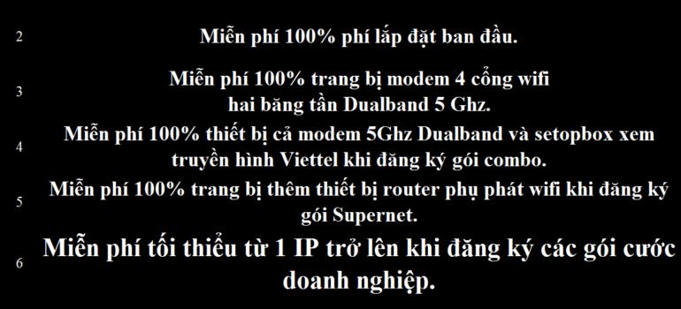 Khuyến mãi Đăng Ký Lắp Mạng Internet Cáp Quang Wifi Viettel Hà Giang 2021
