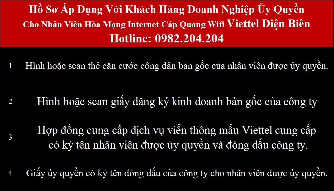 Lắp cáp quang Viettel Điện Biên