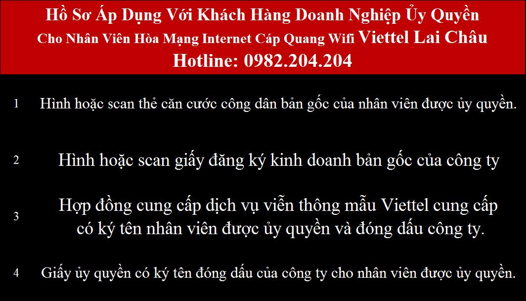 Lắp cáp quang Viettel Lai Châu