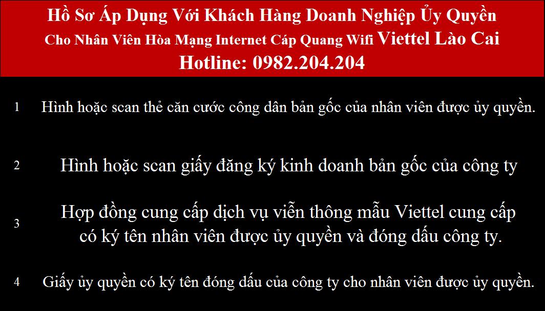 Lắp cáp quang Viettel Lào Cai