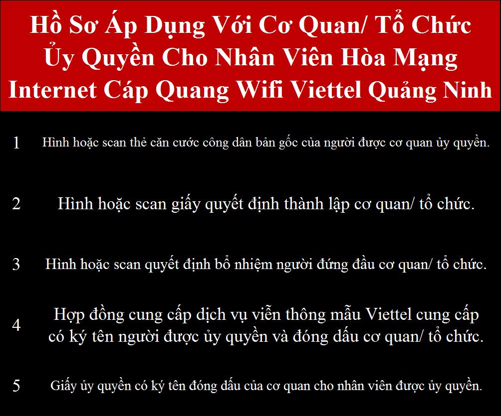 Lắp cáp quang Viettel Quảng Ninh