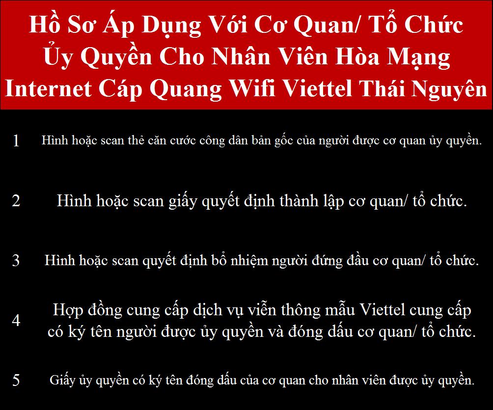 Lắp cáp quang Viettel Thái Nguyên