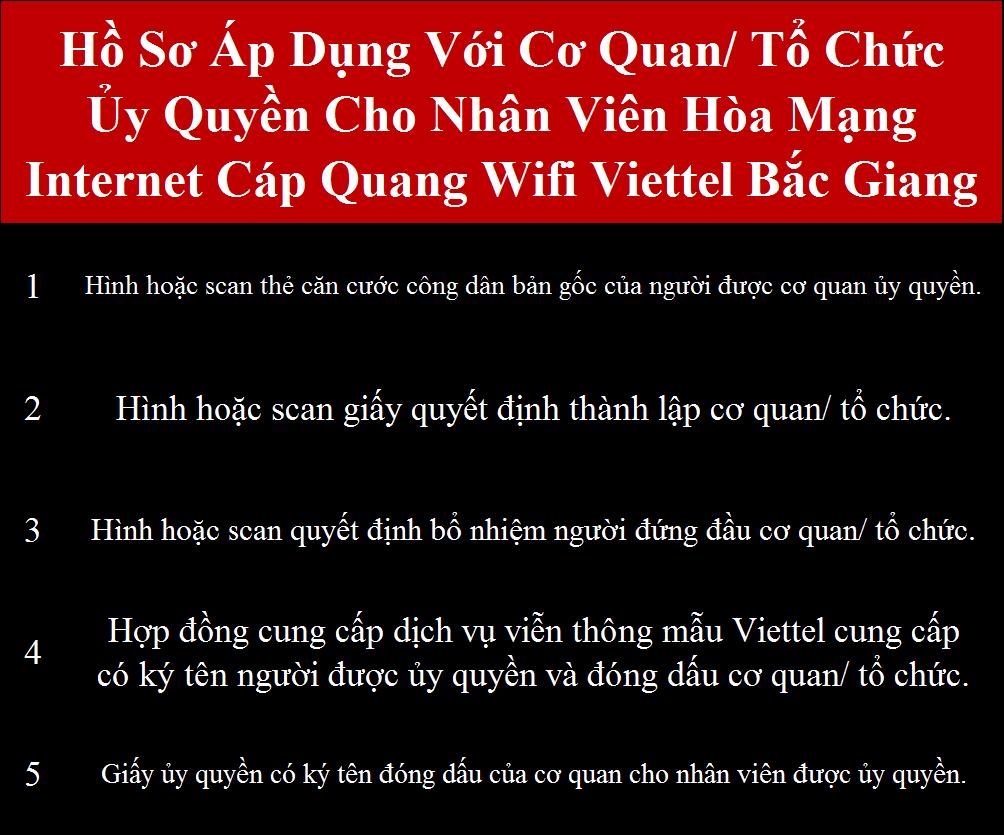 Lắp internet Viettel Bắc Giang