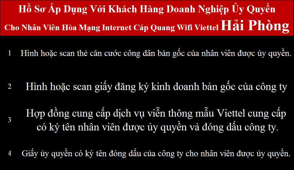 Lắp internet Viettel Vĩnh Bảo Hải Phòng