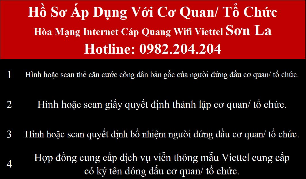Lắp wifi Viettel Sơn La