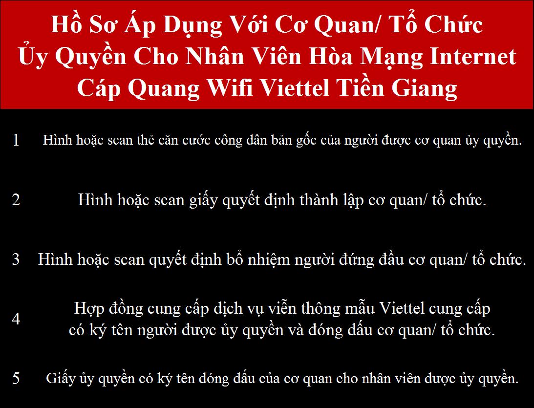 Đăng ký internet Viettel Tiền Giang