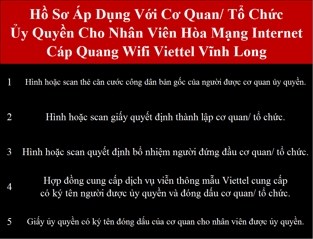 Đăng ký internet Viettel Vĩnh Long