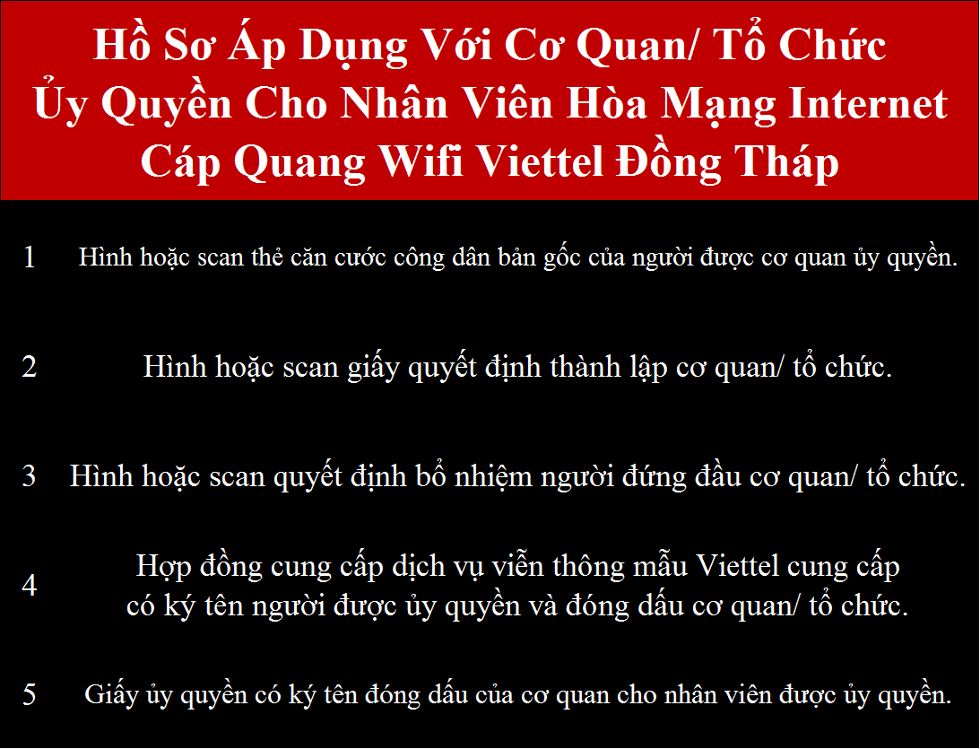 Đăng ký wifi Viettel Đồng Tháp