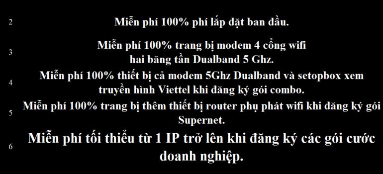 Khuyến Mãi Đăng Ký Lắp Đặt Mạng Internet Cáp Quang Wifi Viettel Vĩnh Long 2021