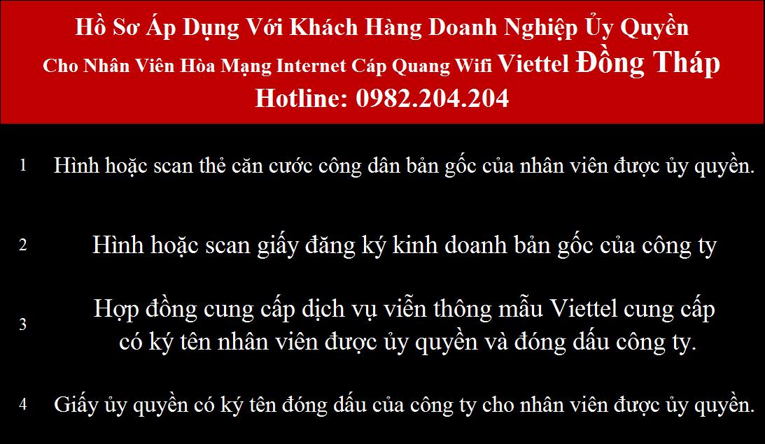 Khuyến mãi lắp mạng wifi Viettel Đồng Tháp