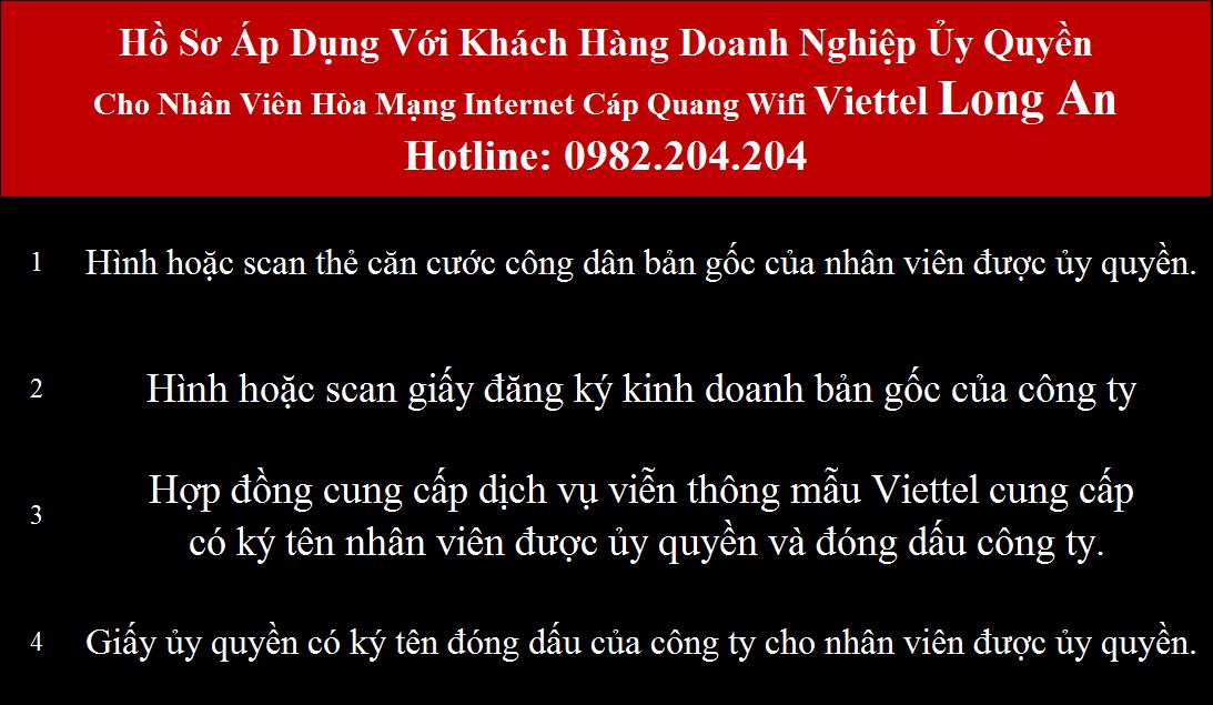 Khuyến mãi mạng internet wifi Viettel Long An