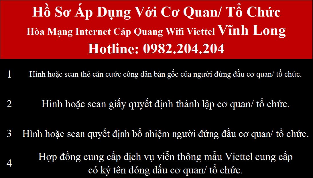 Lắp wifi Viettel Vĩnh Long