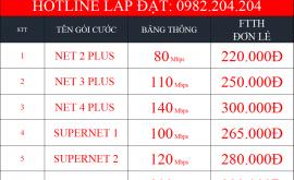 Khuyến Mãi Lắp Wifi Viettel Quận 11 TPHCM 2021 Mạng Internet FTTH Cáp Quang